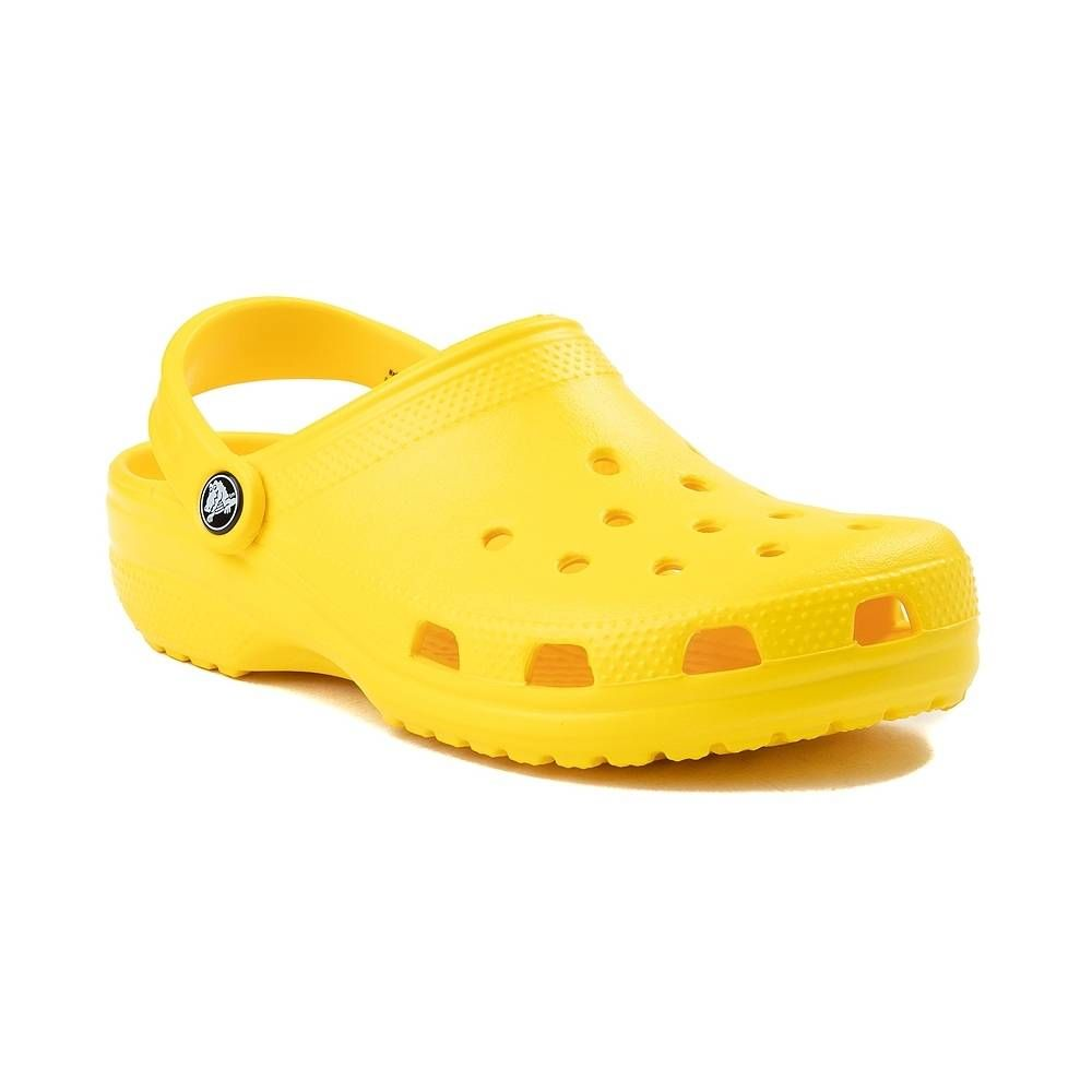 yellow crocs